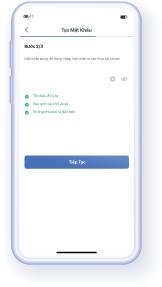 Bước 5: Thiết lập mật khẩu để hoàn tất đăng ký và sử dụng